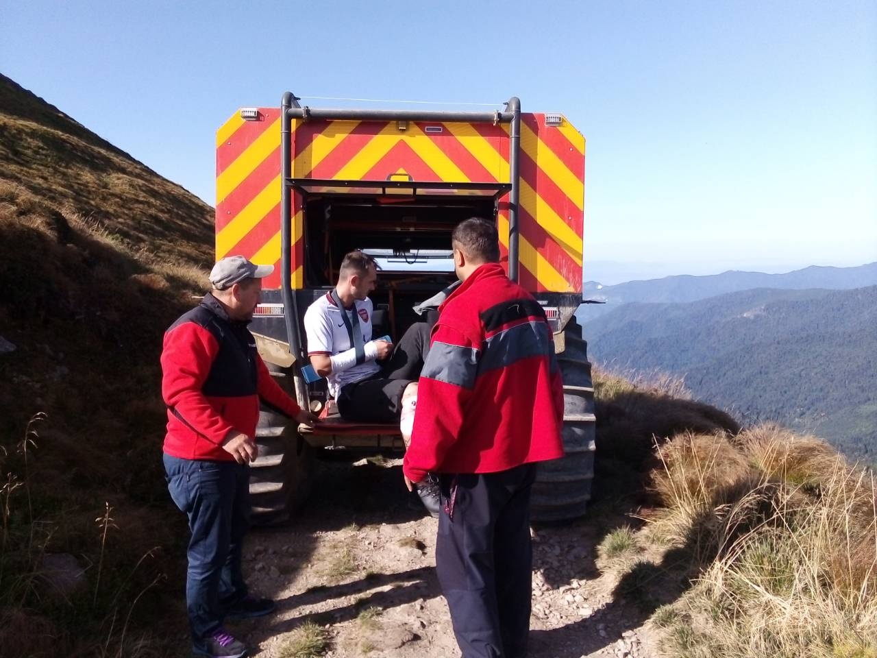 Rescuers and SHERP saved the life in Zakarpattia, Ukraine