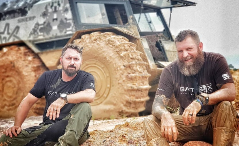 SHERP on the filming of Southern Survival on Netflix.